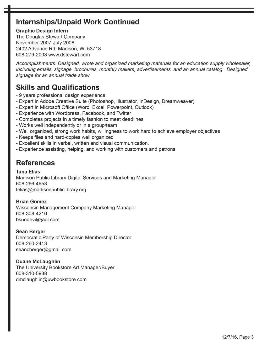resume marc gannon resume 1 resume 2 resume 3